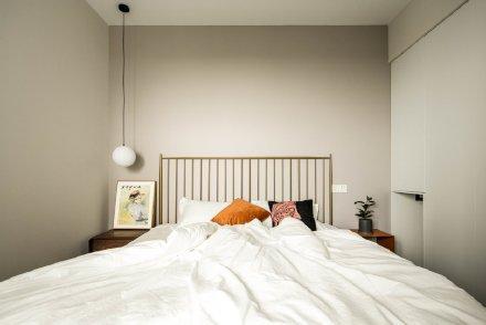 74平米复古与北欧的混搭两居室装修效果图