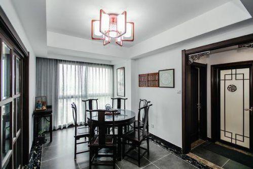 新中式时尚家居设计效果图