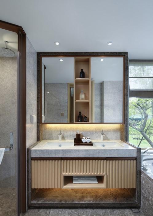 居室160平米中式装修效果图