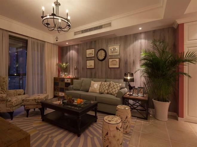 二居室88平米北欧风格装修效果图