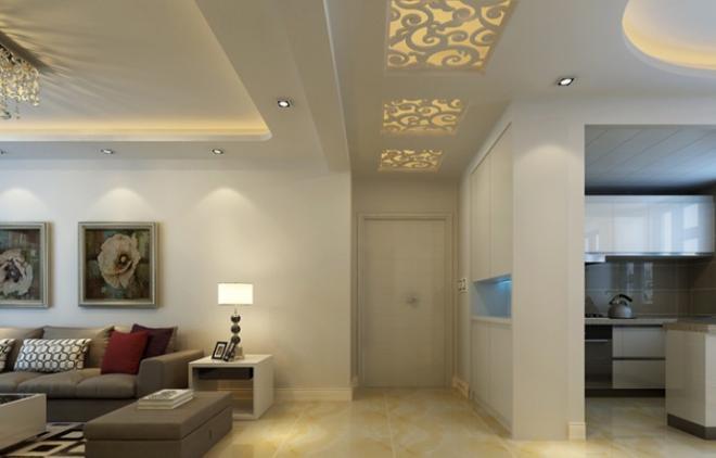 三居室106平米装修效果图