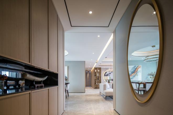 165平米新中式风格家装效果图