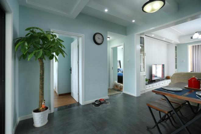 三居室103平米室内装修效果图