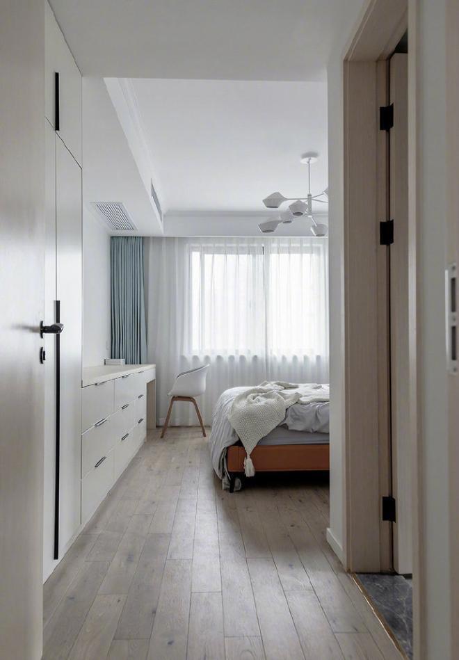 現代北歐風四居室裝修效果圖