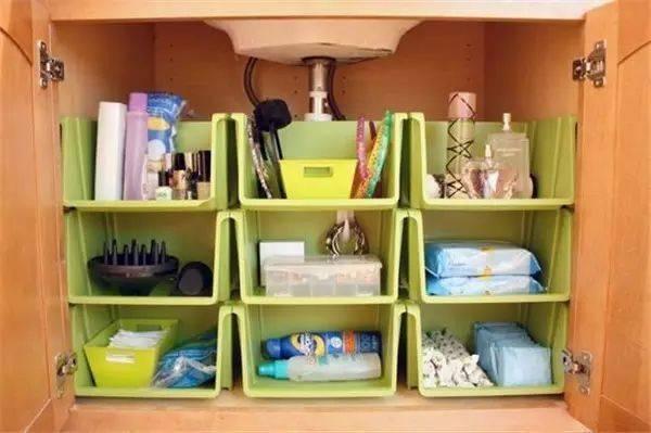 洗手台收纳设计图 家具装修效果图