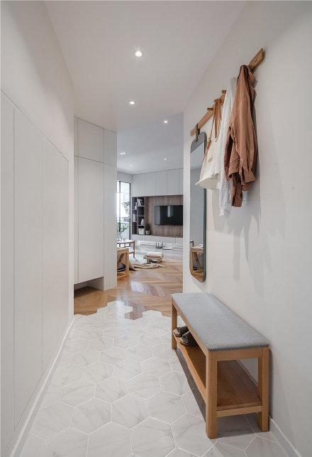 65平日式风家居装修效果图