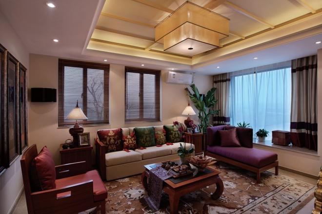 四居室135平米装修效果图