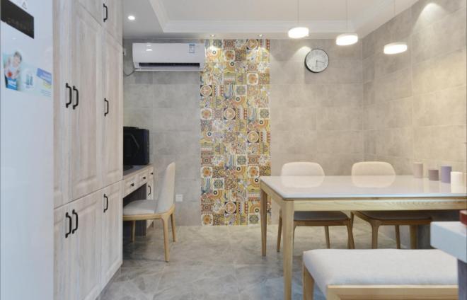 三居室北欧风格家居装修效果图