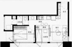 45平的小户型公寓 家居设计图