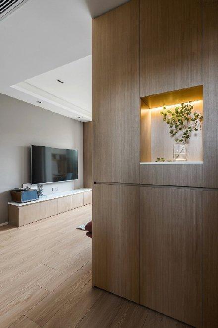 80 ㎡简约两居室装修效果图
