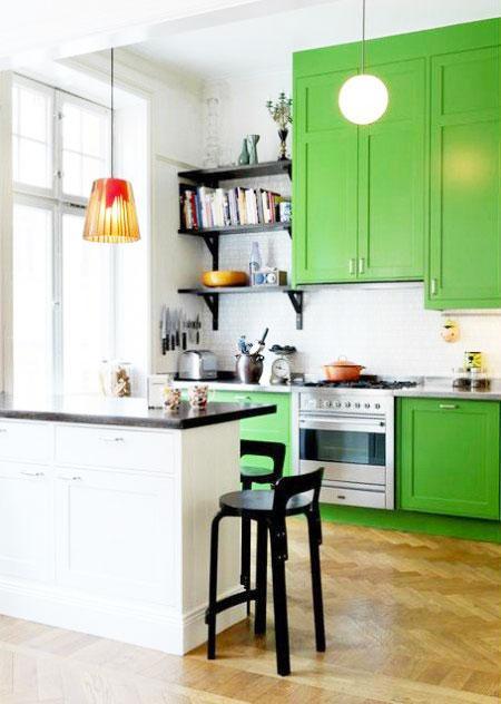 多种风格小户型厨房装修效果图