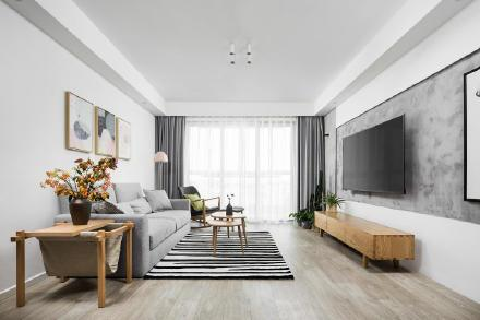 70㎡北欧风格家居装修效果图