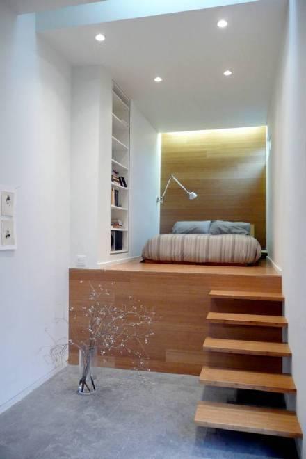 榻榻米卧室设计方案装修效果图