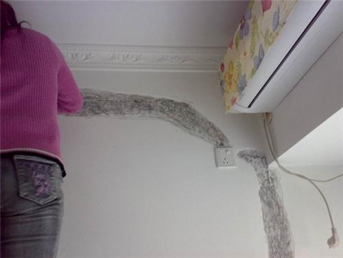 墙面裂缝修补方法