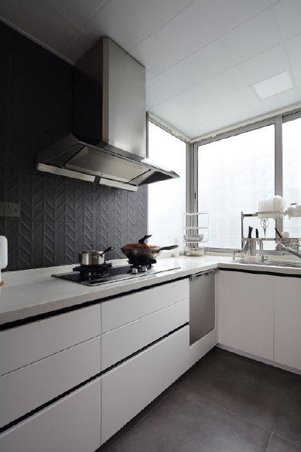 100平米北欧日式混搭风两居室装修效果图