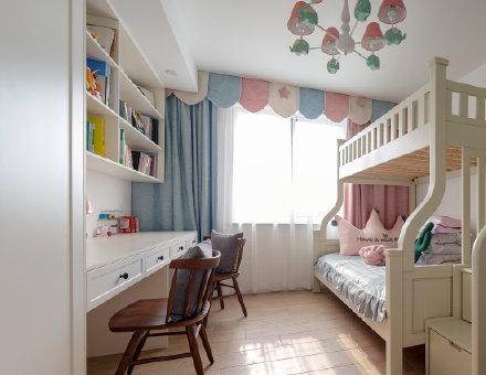 上下床儿童房设计装修效果图