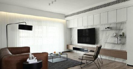 现代极简风家居设计装修效果图