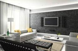 复古风格电视背景墙装修案例欣赏