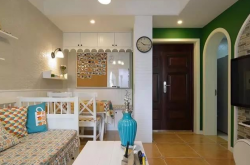 张家口54平米小户型地中海装修风格