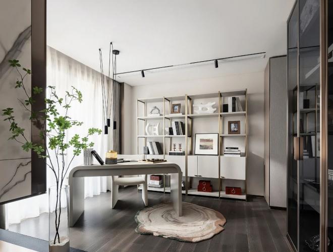 承德现代轻奢四居室装修效果图