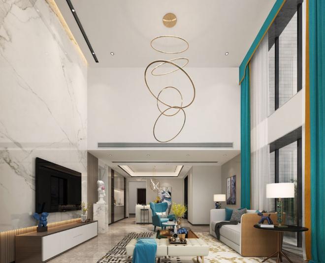 现代风格-196㎡四居室