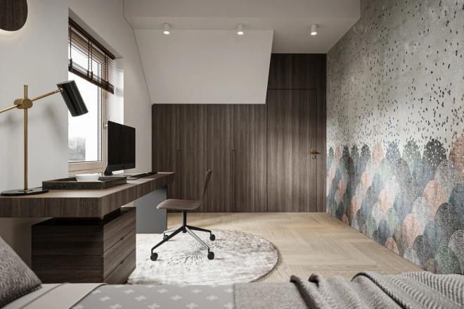 丽水现代轻奢公寓装修效果图