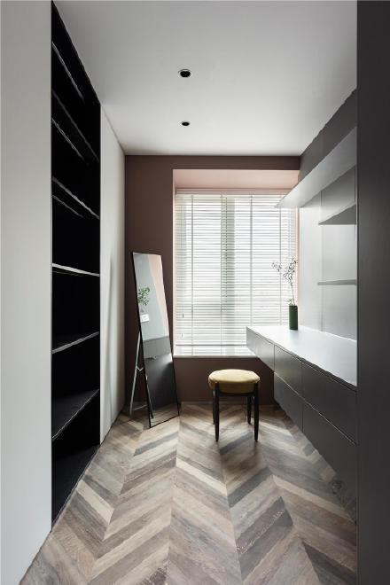 杭州157㎡兼具法式优雅和斯堪的纳维亚式的清新简约三居室