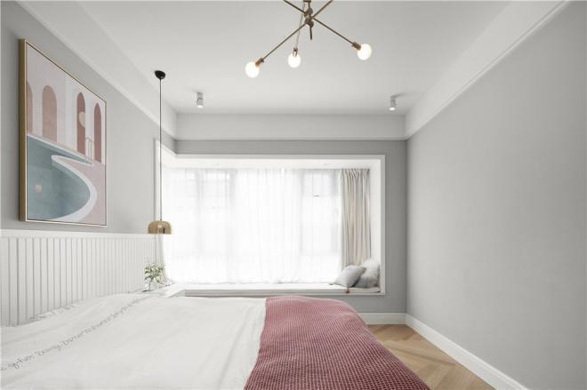 萍乡三居室现代北欧风装修效果图