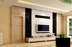 泰安家装电视墙上有门该怎么设计更实用美观呢?