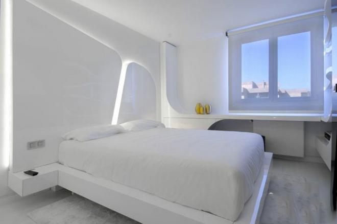 开封9款极简风卧室装修设计效果图