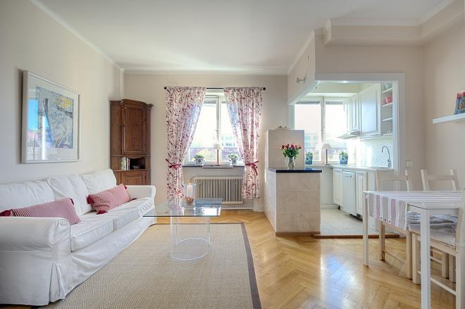 曲靖单身公寓浪漫简欧风装修效果图