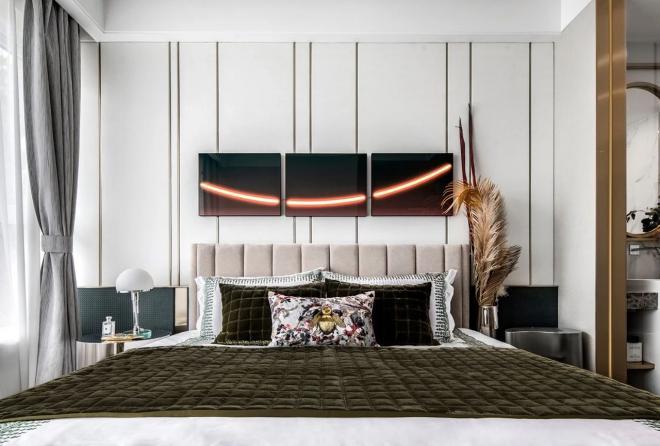 保山两居室现代轻奢风装修效果图