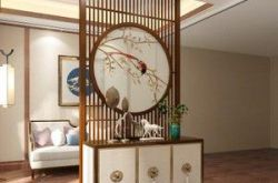 铜川中式风格客厅隔断有哪些材质?