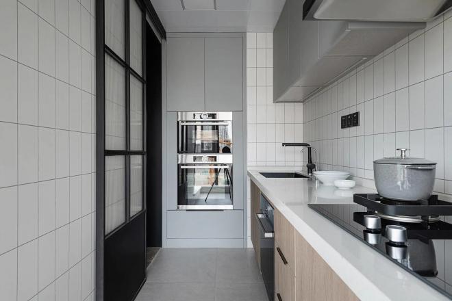 白银简约风两居室装修效果图