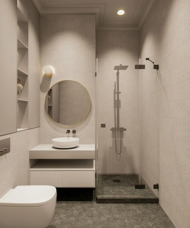吴忠单身公寓白色系装修效果图