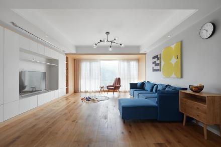 苏州128平米五室两厅北欧风装修效果图
