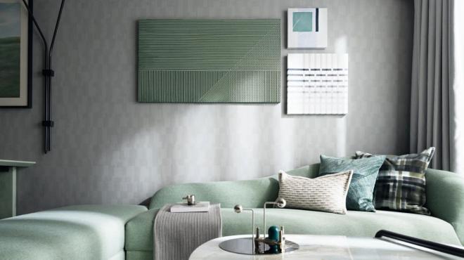 廊坊60平米小户型绿色系装修效果图