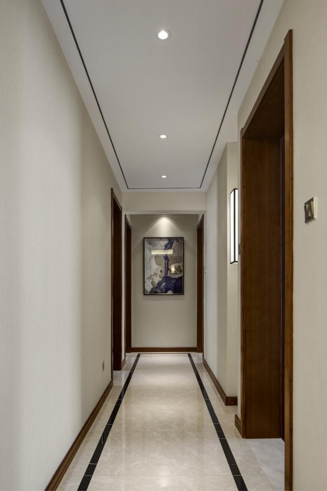 长治三居室中式风装修效果图