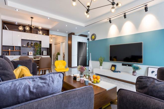 长治两居室现代北欧风装修效果图