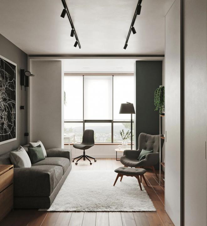 朔州73平米公寓装修效果图
