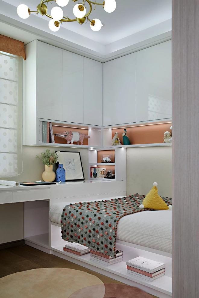大连二居室现代轻奢风装修效果图
