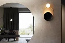 阜新艺术化壁灯设计增添家装浪漫气息