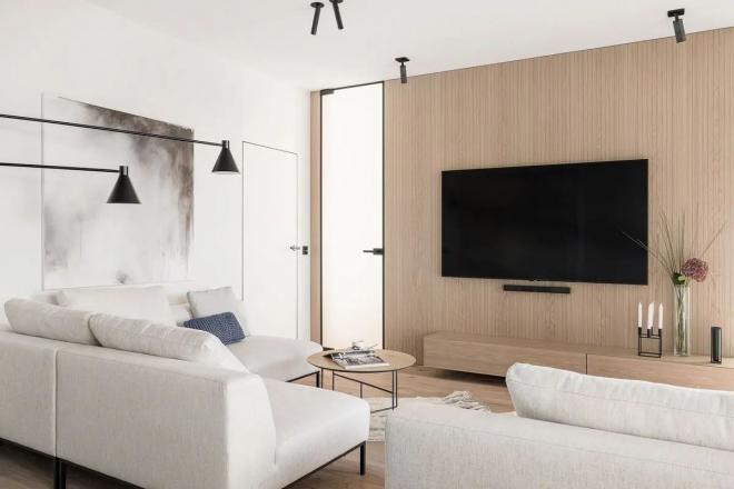 葫芦岛公寓现代简约风装修效果图