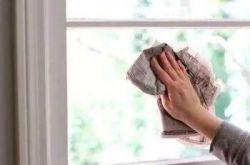 牡丹江装修年前怎么快速擦干净玻璃?