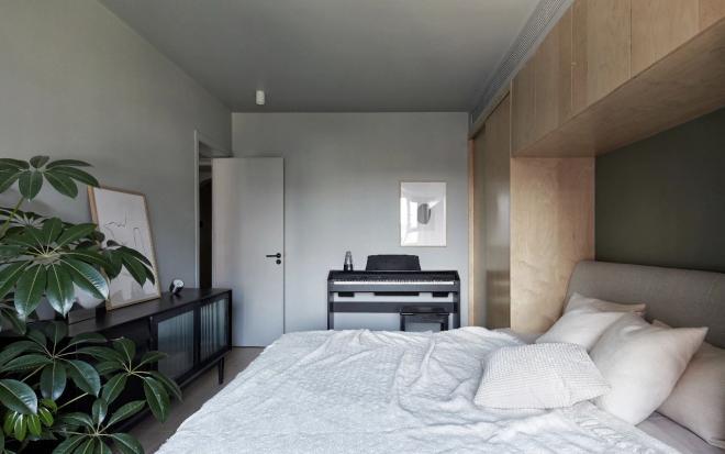 黑河70平米三居室装修效果图
