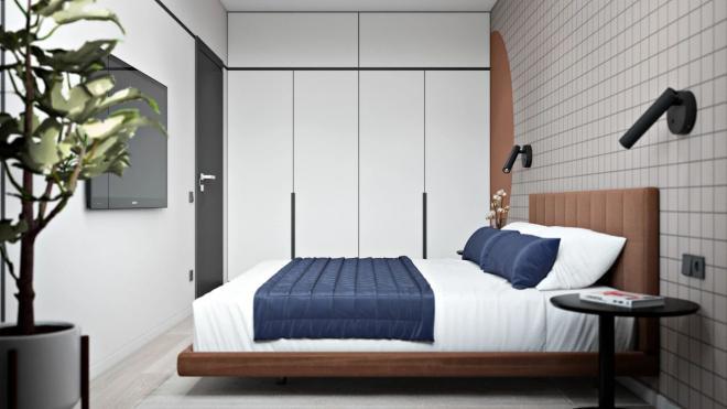大兴安岭小户型单身公寓装修效果图