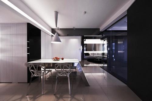 宁德100平米单身公寓装修效果图