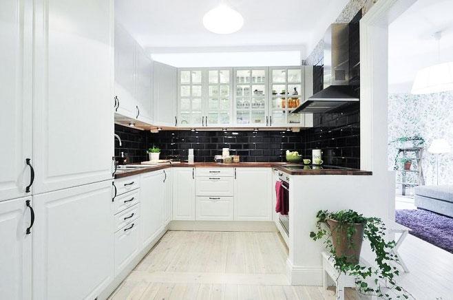 厨房吸顶灯装修效果图