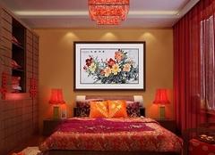 卧室里挂画的十种禁忌 卧室挂什么画风水好
