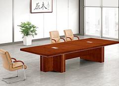 實木會議桌有哪些分類?實木會議桌的尺寸